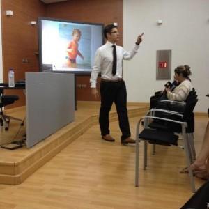 Pablo Ferreirós en el centro emprendedores