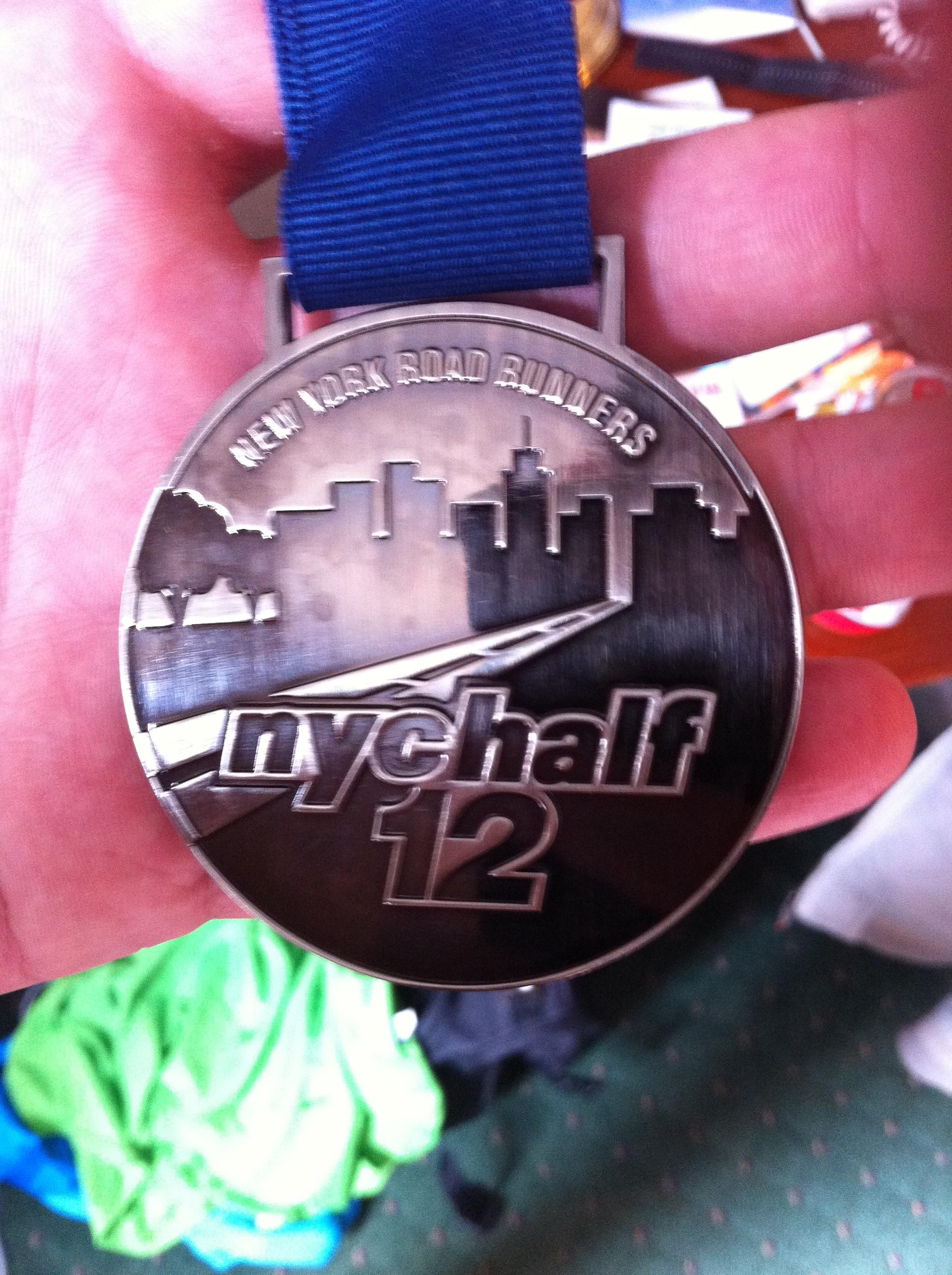 Medalla Media Maratón Nueva York