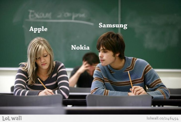 Apple, Sansung y Nokia copiar es ok?