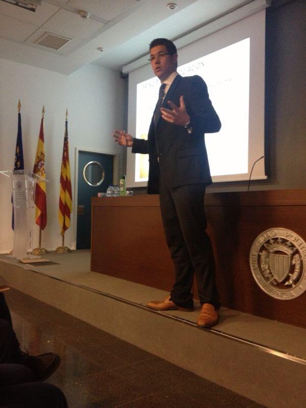 Conferencia Universidad Politécnica de Valencia